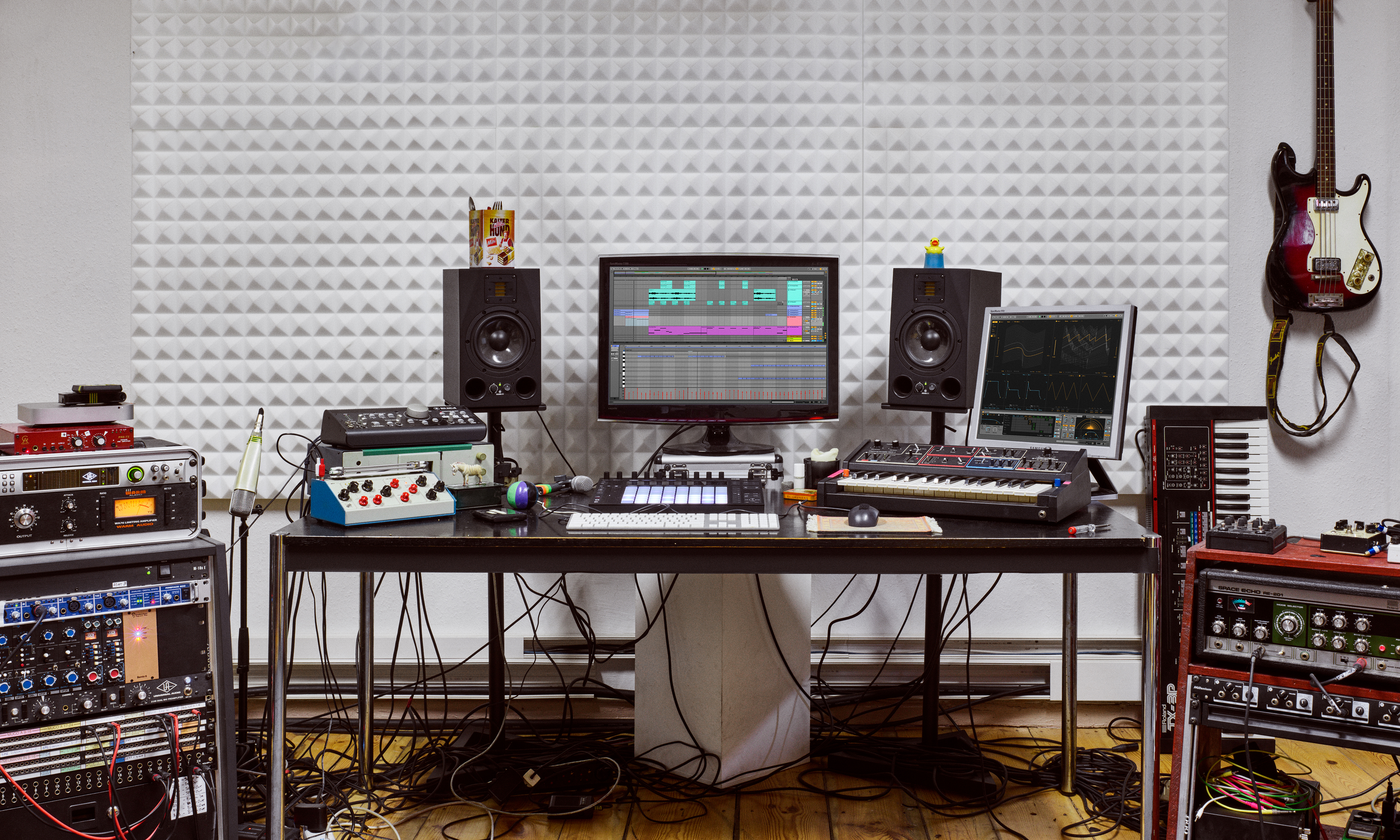 ableton audio creation space