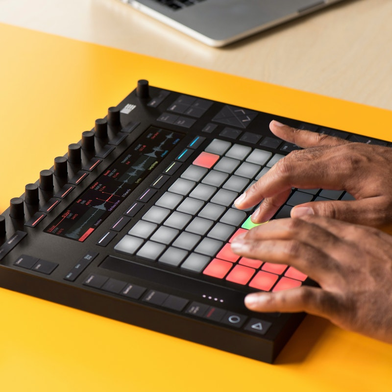 making beats with ableton push ableton. Black Bedroom Furniture Sets. Home Design Ideas
