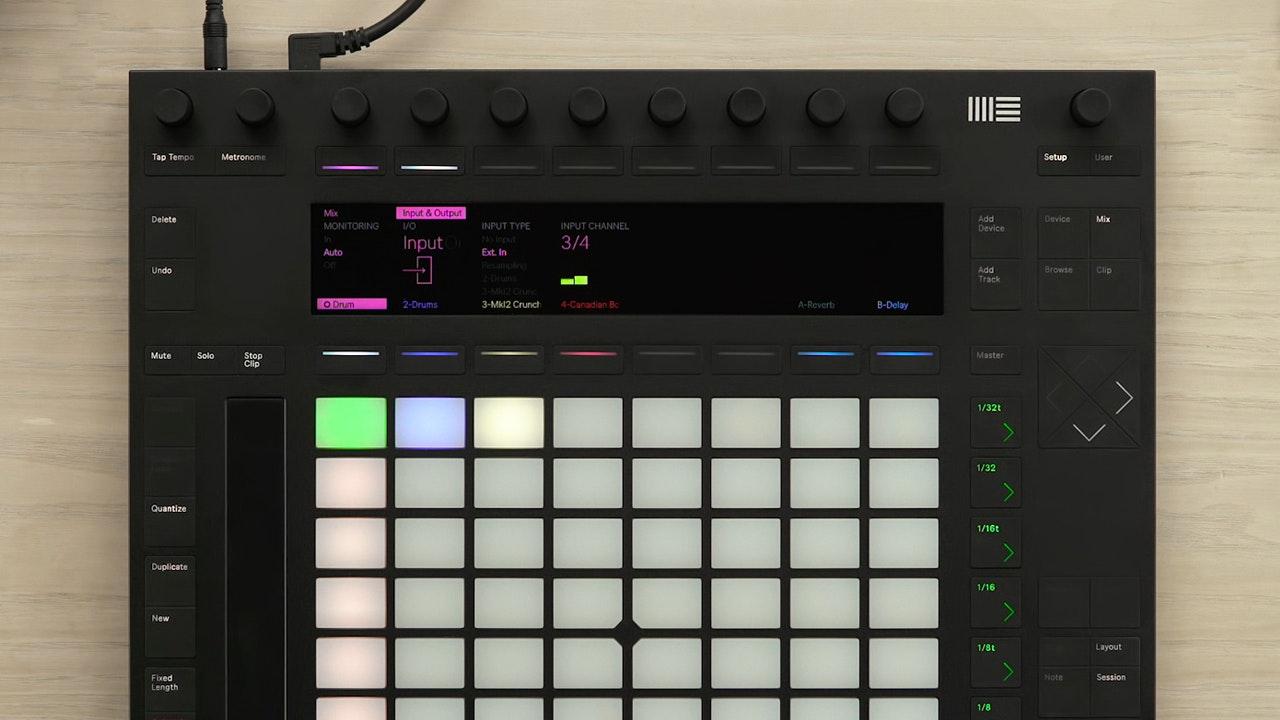 What is the Ableton Push? - lynda.com